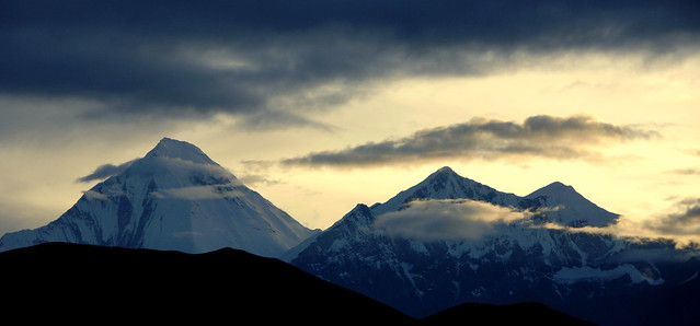 धौलागिरी - Dhaulagiri (8167 m.)  Montagna Bianca - White Mountain