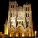 Amiens Cathedral West Facade Lighting