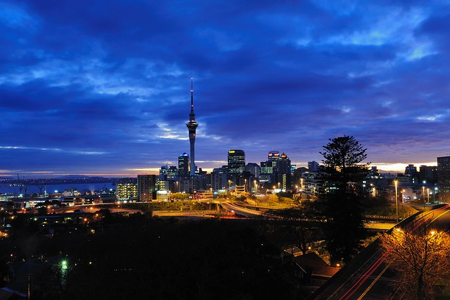 Welcome a new day in Auckland