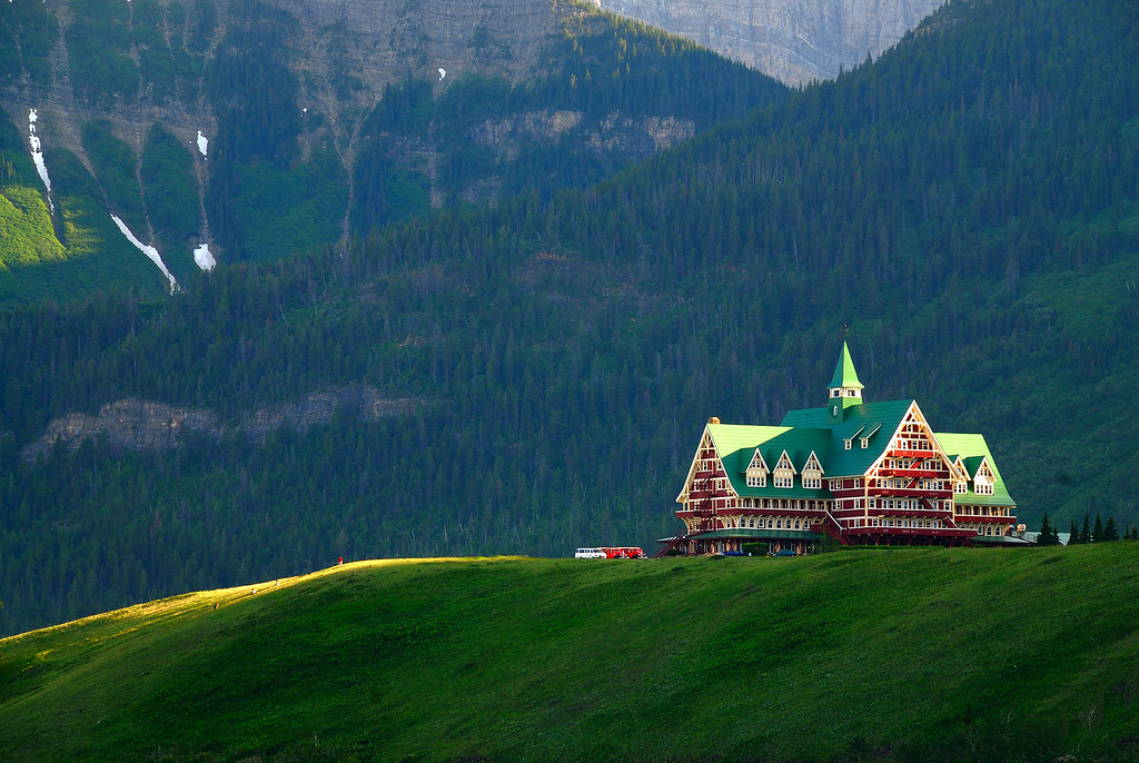 Prince of Wales Hotel, Waterton National Park 2009