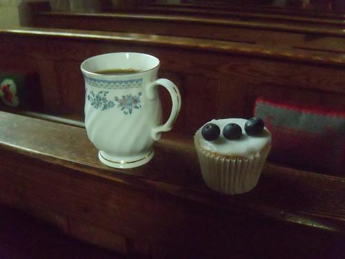 My tea, my cake