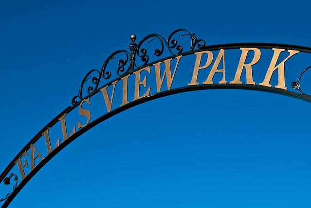 Falls View Park Entrance
