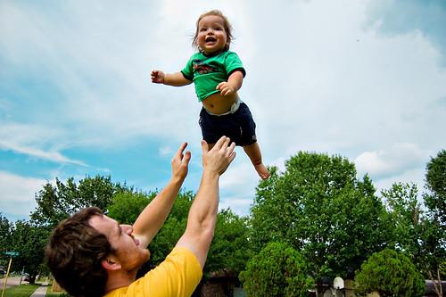 365.263: baby toss!