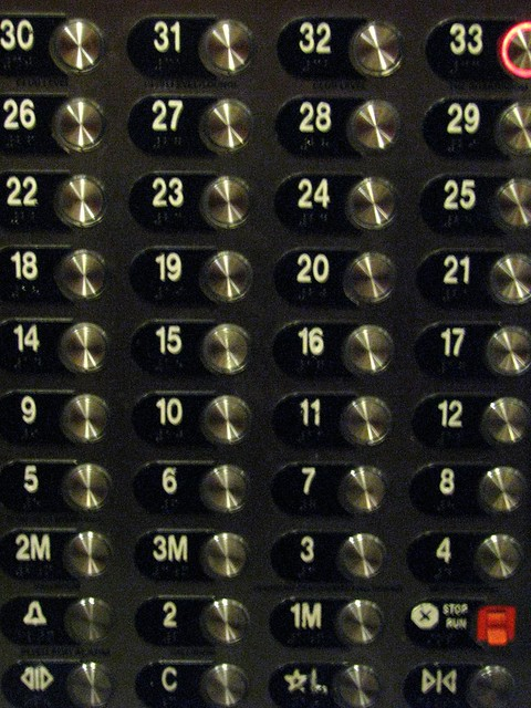 Elevator Buttons Flickr Photo Sharing