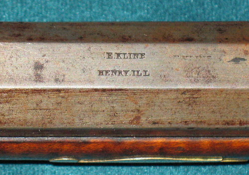 E. KLINE  HENRY,  ILL  name stamp on barrel