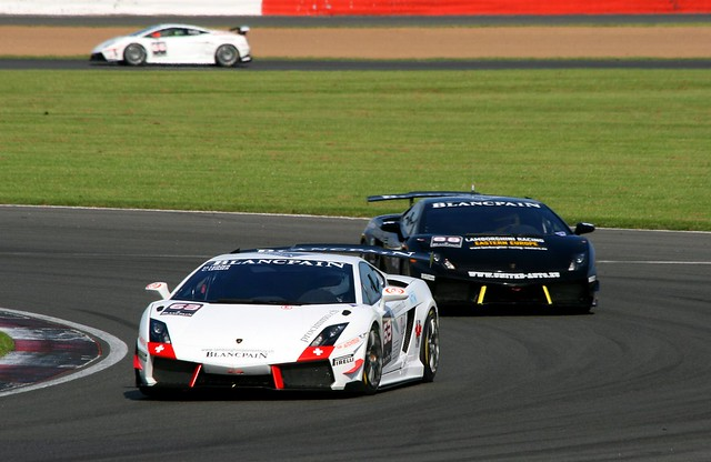 (63) Cedric Leimer & Herve Leimer (88) Michael Scheublein & Petr Charouz Lamborghini Gallardo LP-570-4