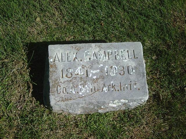 Header of Alexander Campbell