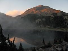 Mt Lassen at dusk