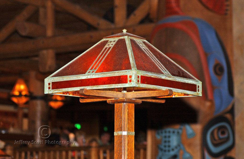 Pretty Lamp at Wilderness Lodge