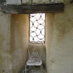 Window from the garden through the rampart