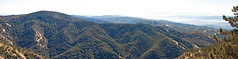 Mount Hamilton Panorama - the view to the east.