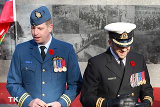 Image of Ontario Veterans Memorial. toronto memorial ceremony queenspark remembranceday downtowntoronto veteransmemorial