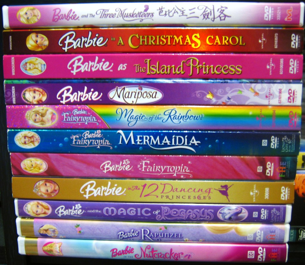 barbie movies! - a photo on flickriver