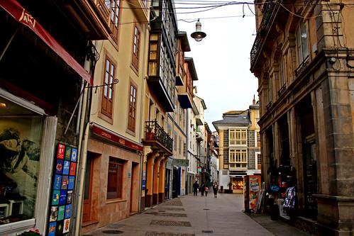 Calles de Luarca