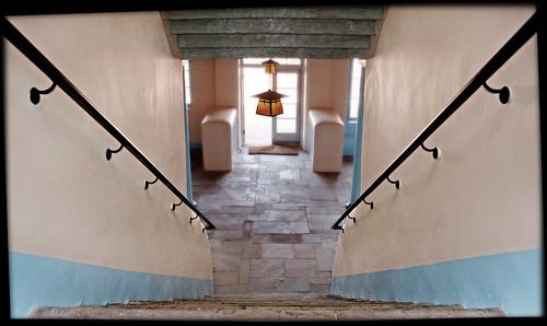 Painted Desert Inn Stairway by Juli Kearns (Idyllopus)