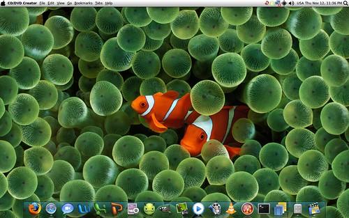 MacLook Ubuntu (^_^)
