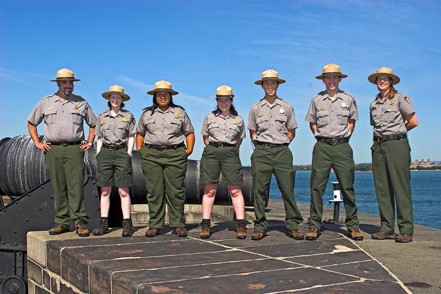 Governors Island Park Ranger