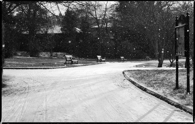 Heaton under Snow, Newcastle Upon Tyne