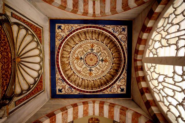 Sultan 3.Mehmed Türbesi- Giriş Kubbesi - Tomb of Sultan 3.Mehmed-Entry Dome