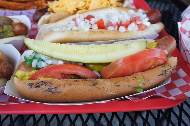 Fab Hot Dogs Reseda Ca Menu