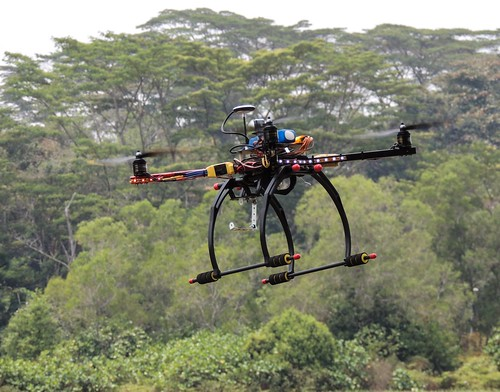 Drones could speed up deliveries in the parcel sector.