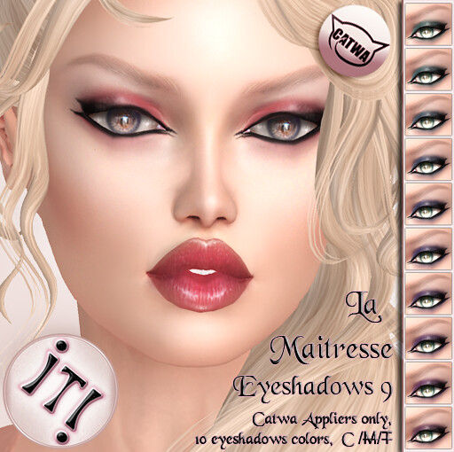 !IT! - La Maitresse Eyeshadows 9 Image - SecondLifeHub.com