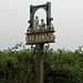 Small photo of Village sign Sibton Suffolk
