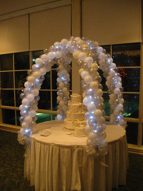 Fondant Cake Ball Design : Cake Table Arch Flickr - Photo Sharing!