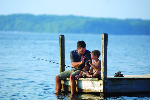 Photo for Father son fishing