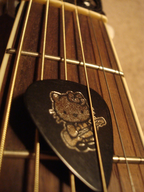 Hello Kitty Guitar Pick