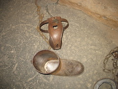 Chastity Belt & Iron Boot, The Clink Prison Museum, Bankside, London