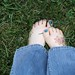 19.52 Barefoot in the grass by Kara Michele