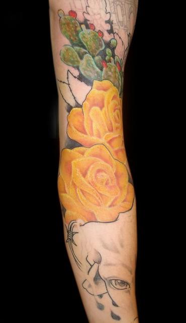 Picssr james danger harvey 39 s flickr photos for Yellow tattoo on dark skin