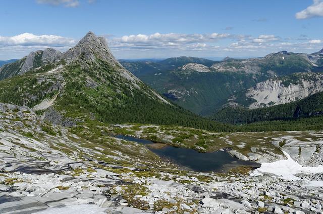 Needle Peak, 19 Jul 2009
