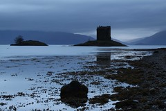 Castle Stalker from Portnacroish