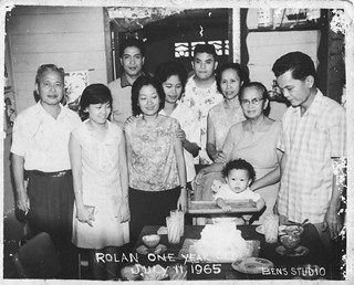 My 1st Birthday 11Jul1965 in the Philippines