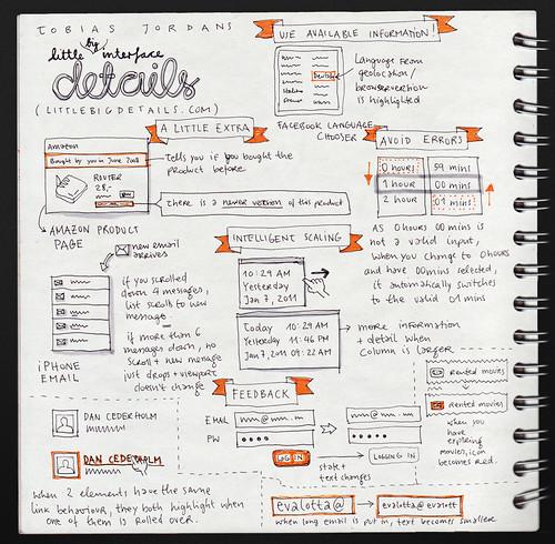 Tobias Jordans: Little Big Details @ UX Camp Europe 2011