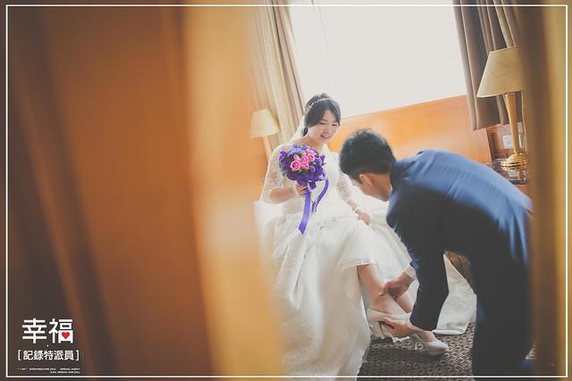 『婚禮記錄』輕輕對你說 住都飯店