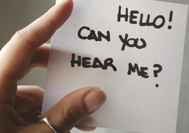 Hello Can You Hear Me