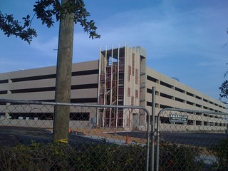 University of Houston East Parking Garage