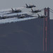 Blue Angles over SF Golden Gate Bridge