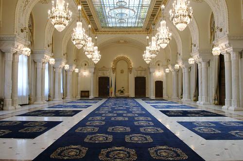 Sala Unirii - Palatul Cotroceni - Cotroceni Palace