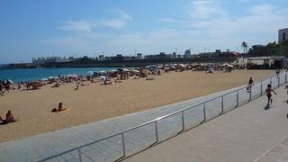 Attēls no Platja de la Nova Icària. barcelona beach catalonia catalunya platjadenovaicària