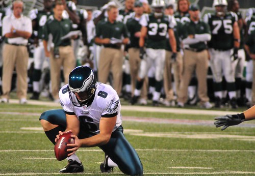 Football: Jets-v-Eagles, Sep 2009 - 36
