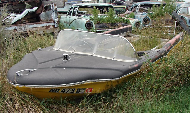 1958 glastron surfflite flickr photo sharing for Outboard motor salvage yard
