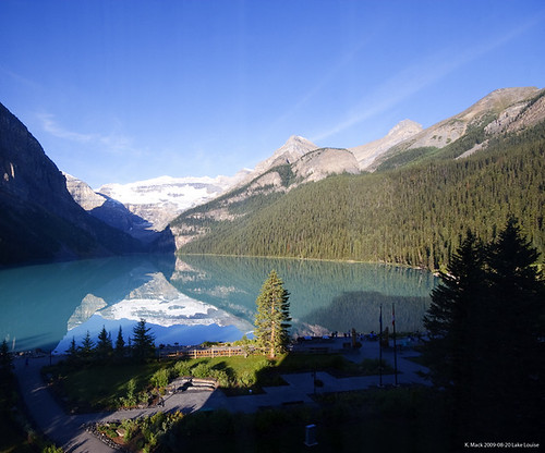 Lake Louise Morning Reflection
