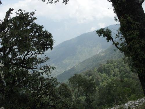 view, on the road to Monsiyari