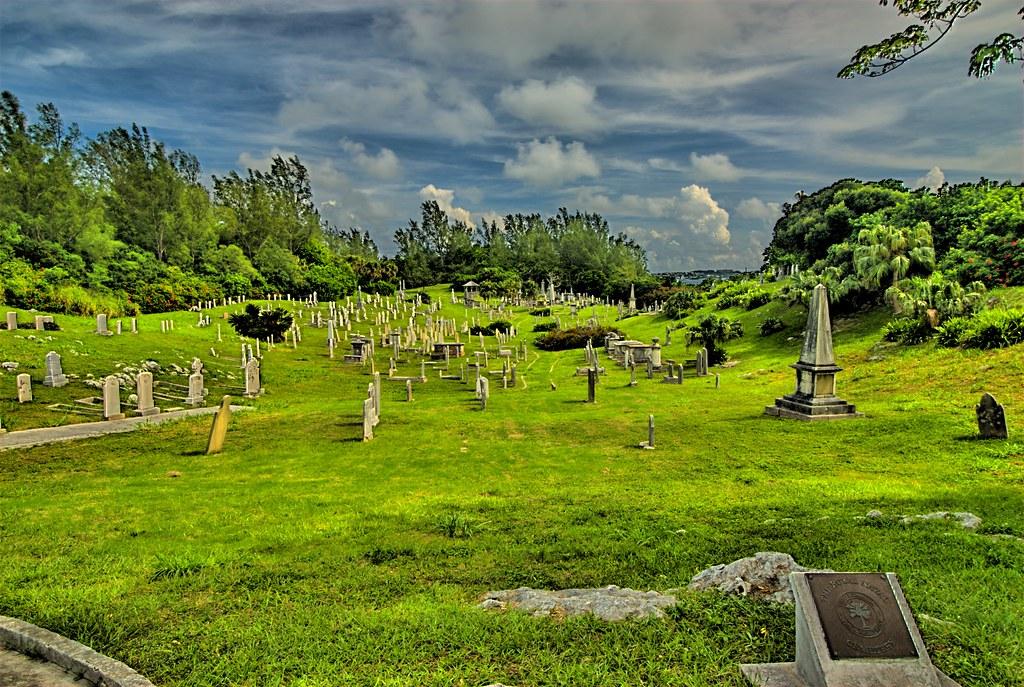 The Royal Navy Cemetery on Ireland Island