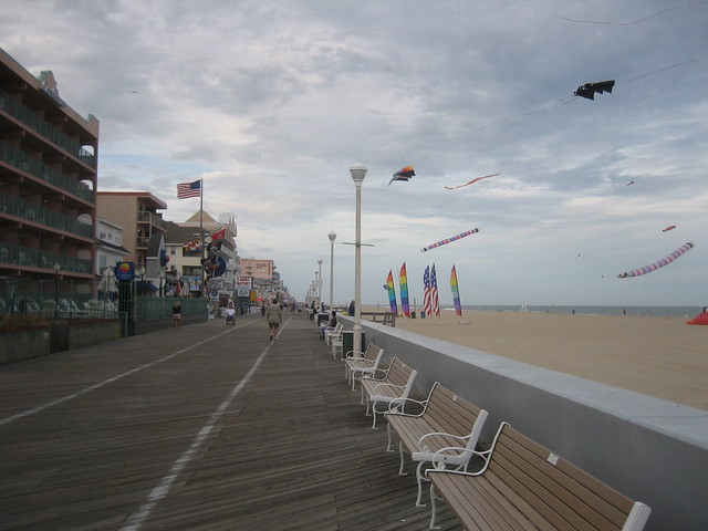 Ocean City Maryland by CC user wagnerr on Flickr