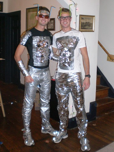 And the winners of vox s costume contest are vox populi for Outer space outfit